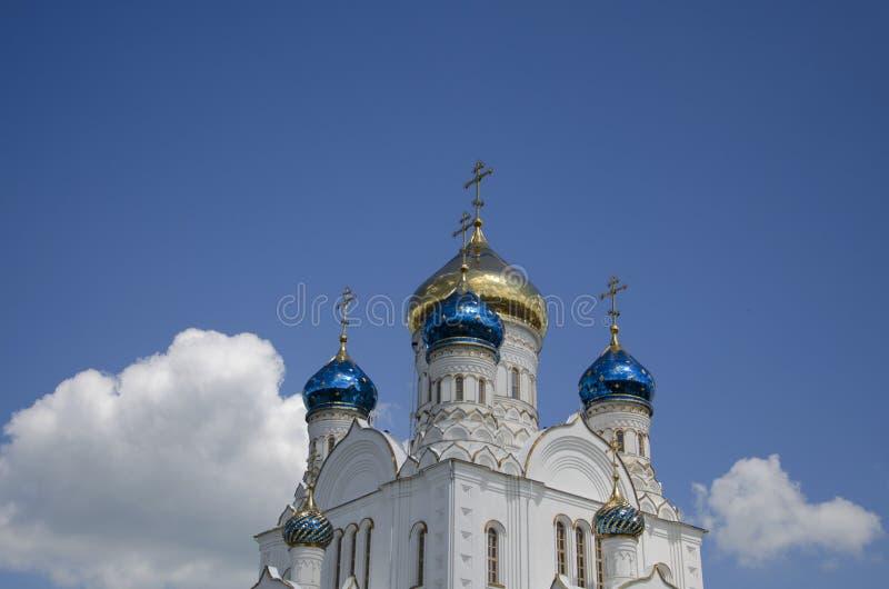 Die orthodoxe Kirche lizenzfreie stockbilder