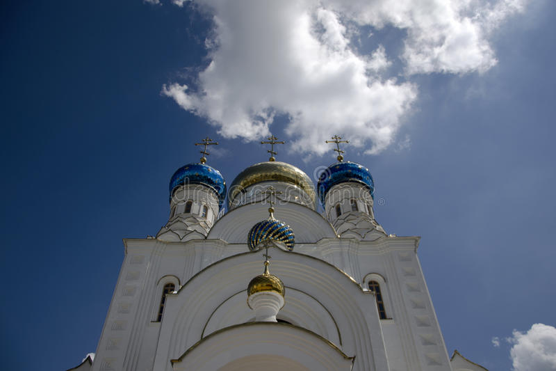 Die orthodoxe Kirche stockbild
