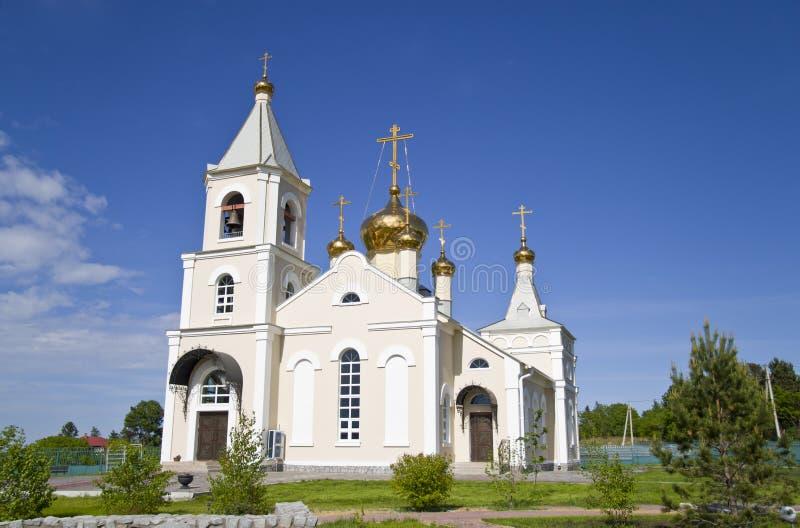 Die orthodoxe Kirche, Kloster stockfotos