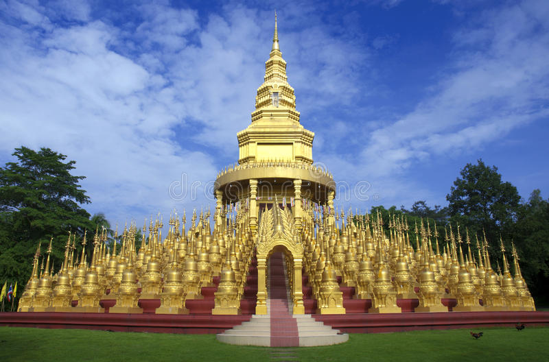 Die Pagode Thailand. lizenzfreies stockbild