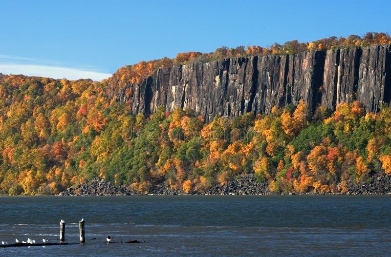 Download Die Palisades stockbild. Bild von bäume, fluß, hudson, york - 39057