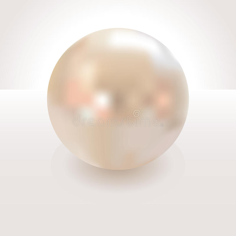 Die Perle vektor abbildung