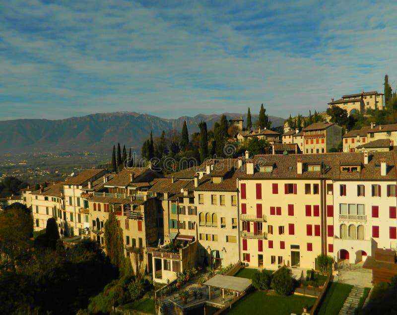 Die Perle der Provinz von Treviso stockfoto