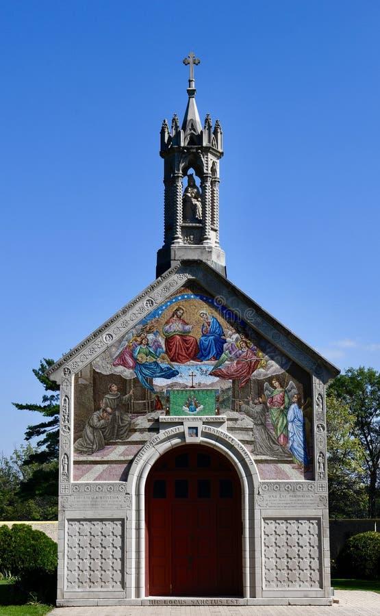 Die Portiuncula-Kapelle lizenzfreie stockbilder