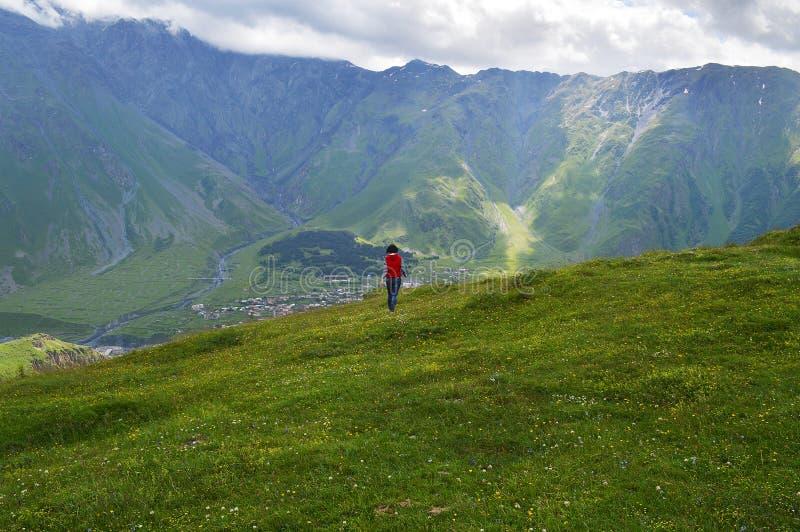 die Pracht des Kaukasus lizenzfreie stockbilder
