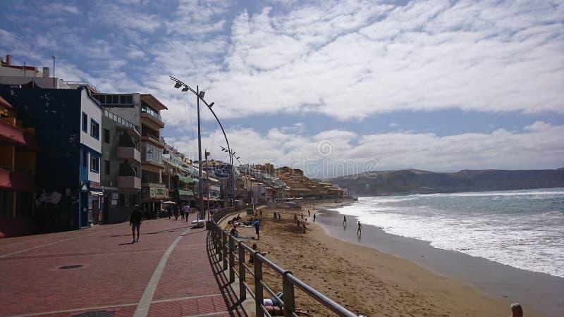 Die Promenade lizenzfreies stockbild
