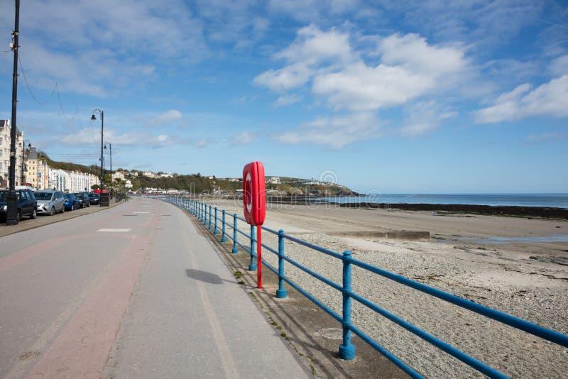 Die Promenade Douglas Isle des Mannes lizenzfreie stockfotos