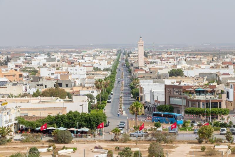 Die römische Stadt von Thysdrus, heutiges EL Djem Tunesien, Afrika stockfotografie
