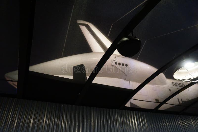 Die Raumfähre Pavillion 128 stockbild