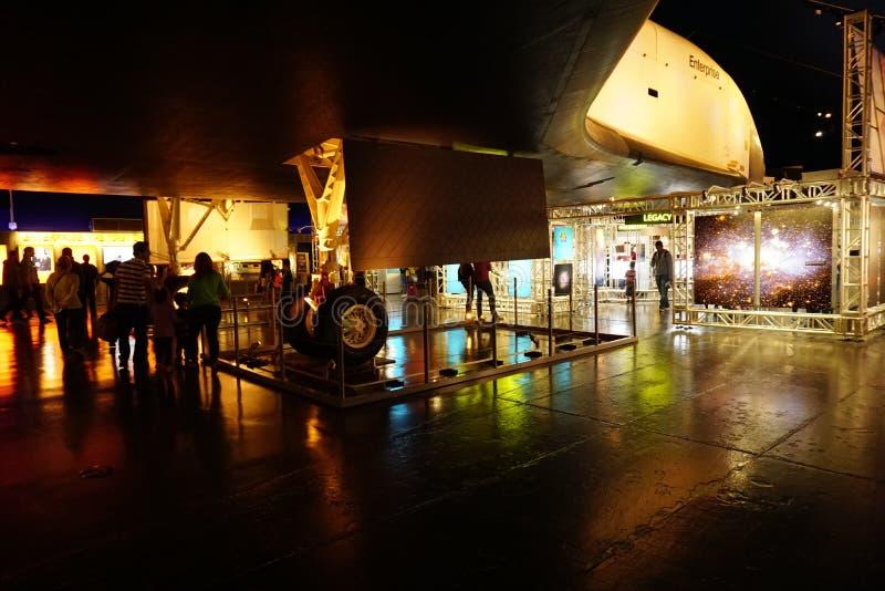 Die Raumfähre Pavillion 122 stockbild
