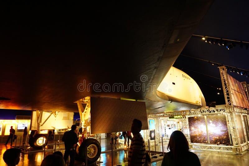 Die Raumfähre Pavillion 121 stockfotografie