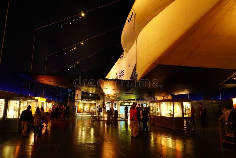 Die Raumfähre Pavillion 15 stockfoto