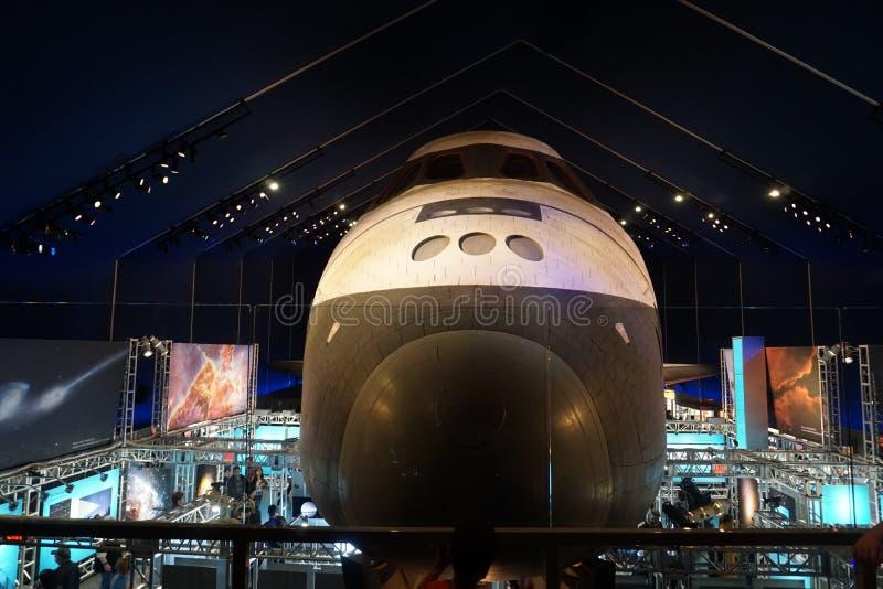 Die Raumfähre Pavillion 21 stockbild