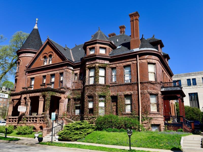Die Redstone-Villa stockbild