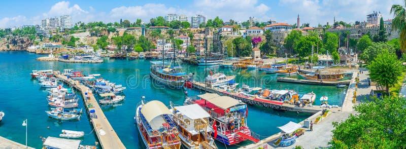 Die Reisen von Antalya lizenzfreies stockbild