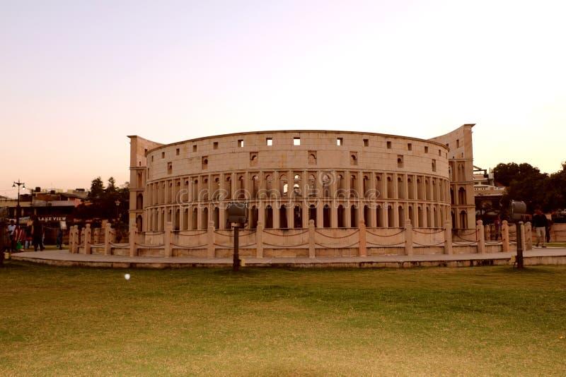 Die Replik von Rom-` s Colosseum stockbilder