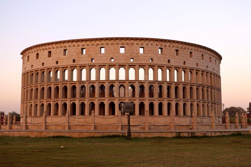Die Replik von Rom-` s Colosseum lizenzfreie stockfotografie