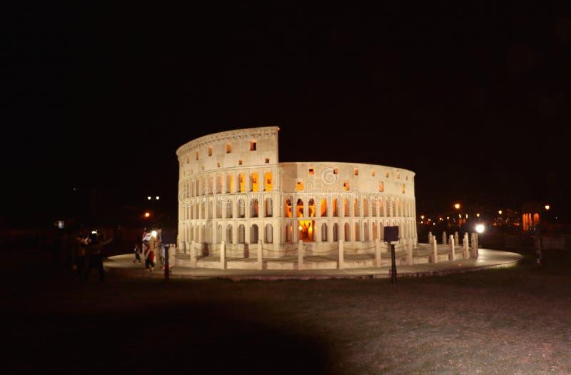 Die Replik von Rom-` s Colosseum stockfotografie