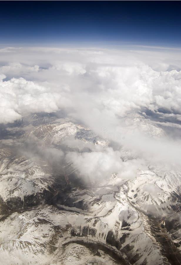Die Rockies lizenzfreie stockfotos