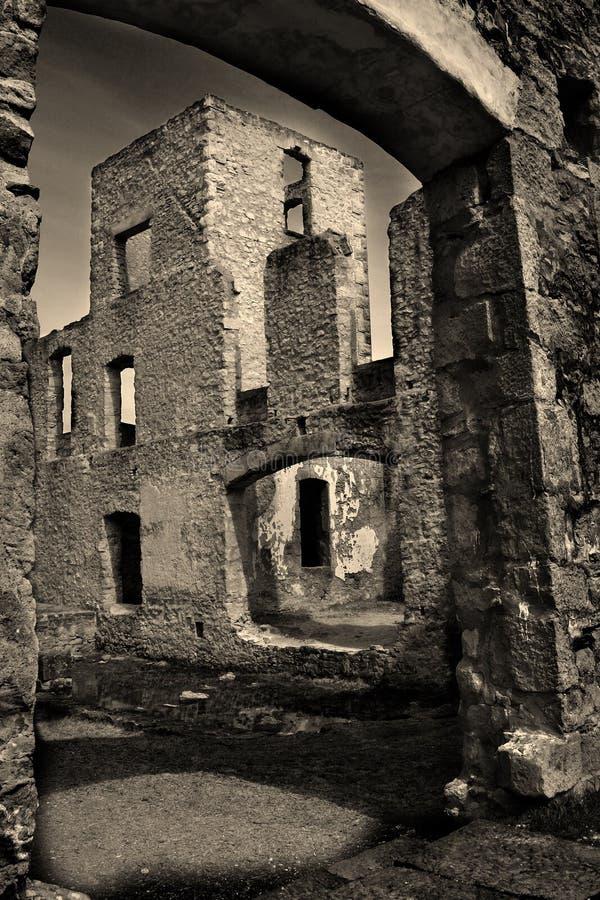 Die Rockwood Tausendstel-Ruinen stockfoto