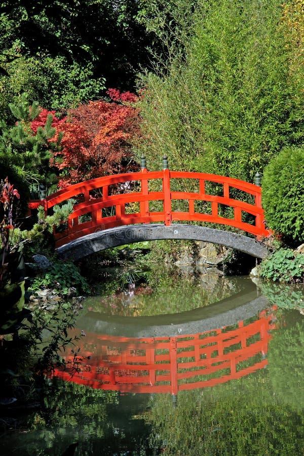 Die Rote Brücke Stockfoto