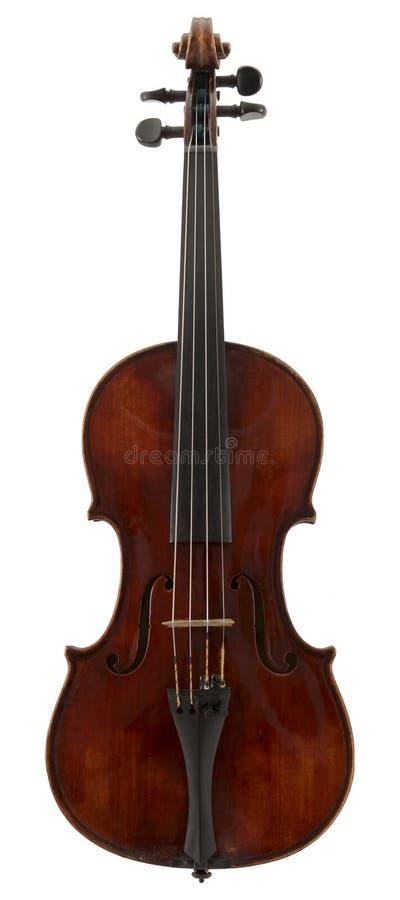 Die rote Violine stockfotografie