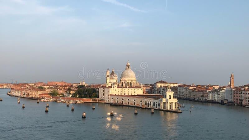 Die Ruhe von Venedig, Italien stockbild