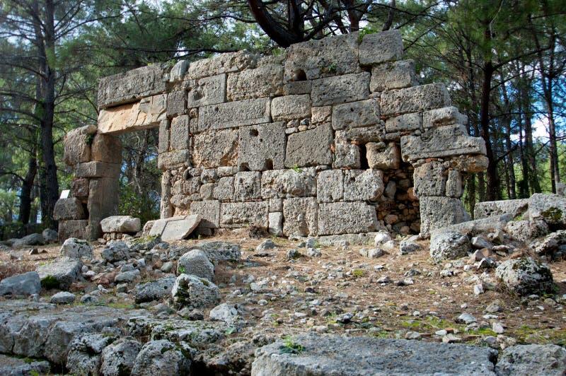 Die Ruinen von den alten Zivilisationen noch extant lizenzfreie stockbilder