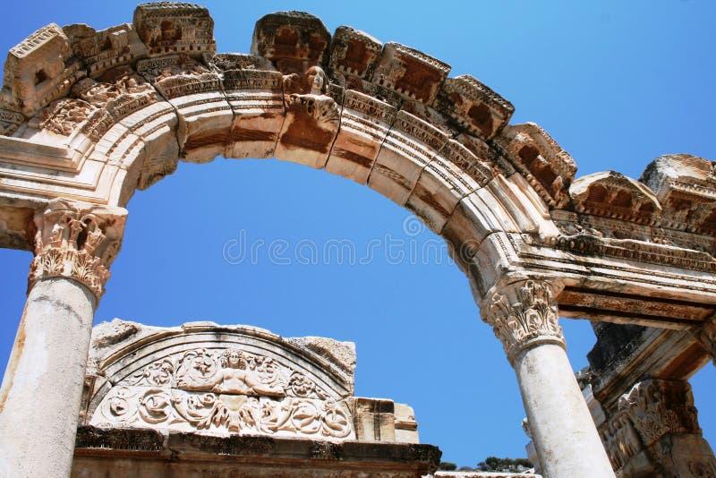 Die Ruinen von Ephesus die Türkei