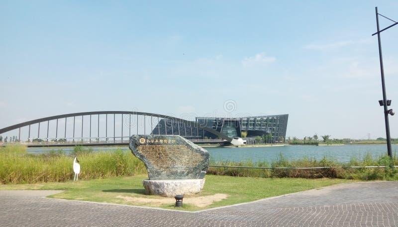Die südliche Niederlassung des nationaler Palast-Museums NPMSB; ist ein Museum, Chiayi County, Taiwan stockfoto