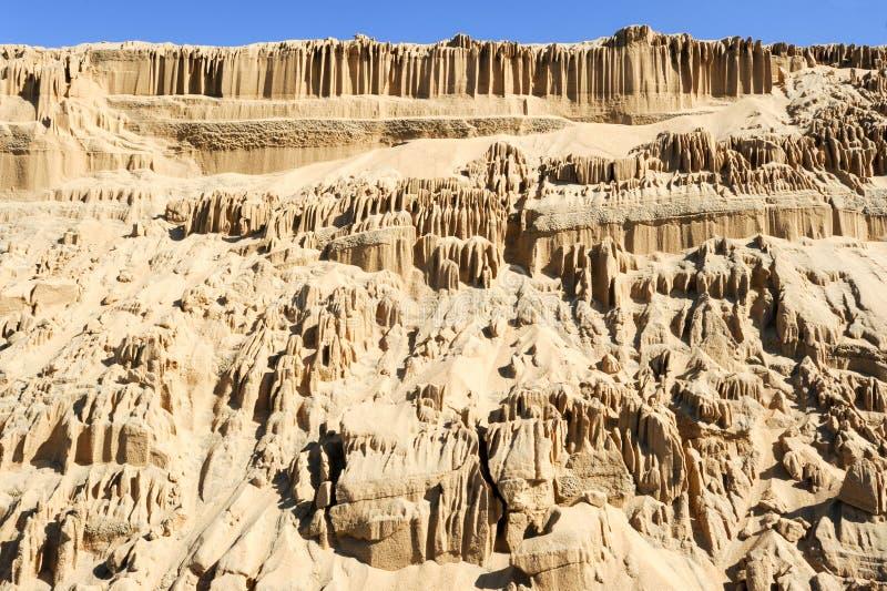 Die Sanddünen von Barra de Valizas lizenzfreies stockbild