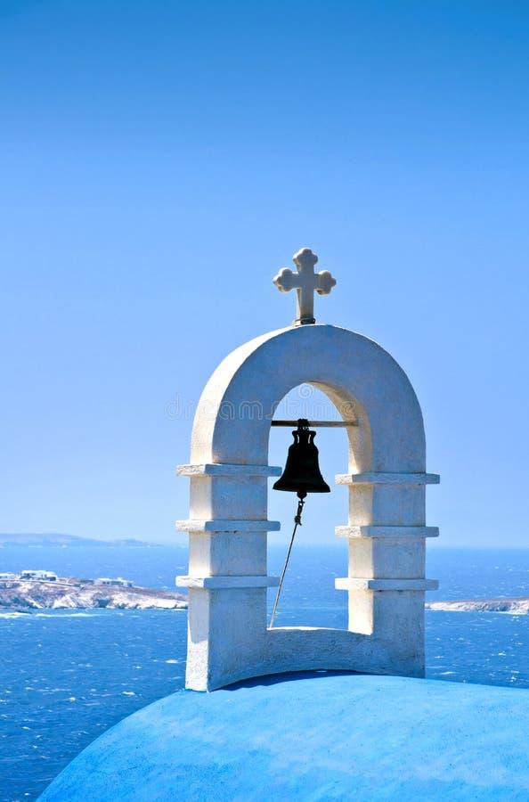 Die schöne griechische Insel, Mykonos stockfoto
