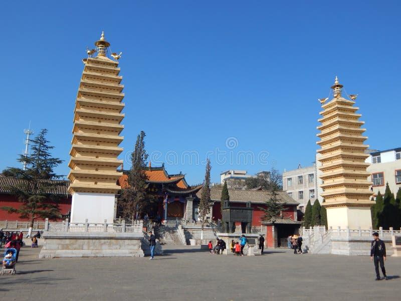 Die schöne Landschaft von Kunming, Yunnan lizenzfreie stockbilder