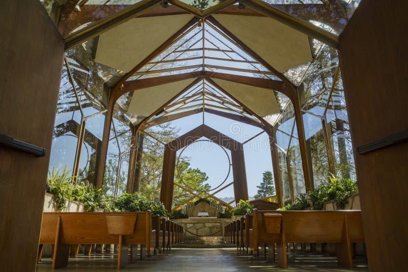 Die schöne Wayfarers-Kapelle lizenzfreies stockfoto