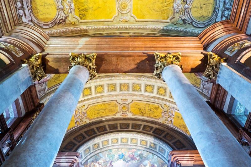 Die schöne Wiener Architektur stockbild