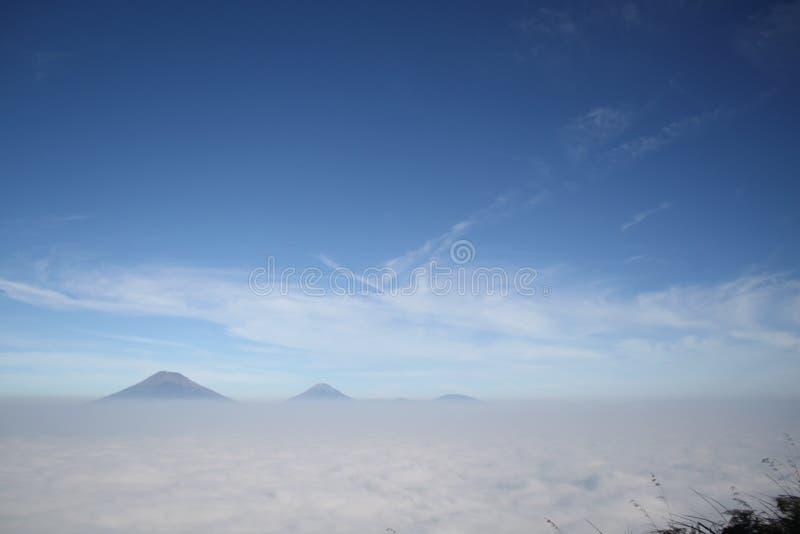 Die Schönheit des Bergs Andong stockbilder
