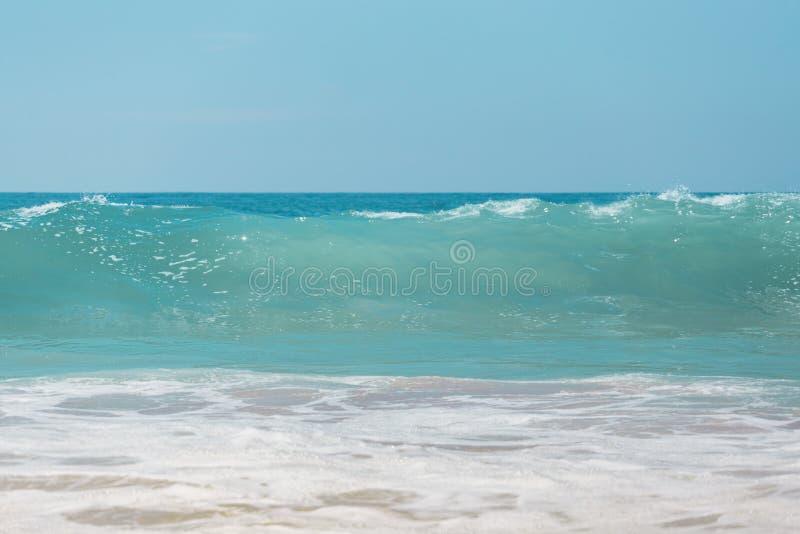 Die schönste Farbe im Ozean lizenzfreie stockfotos