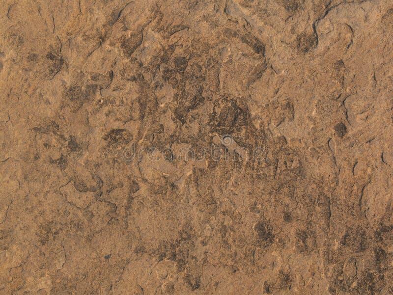 Die schmutzige Steinbodenszene stockfoto