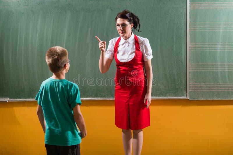 Die Schulbestrafung lizenzfreie stockfotos
