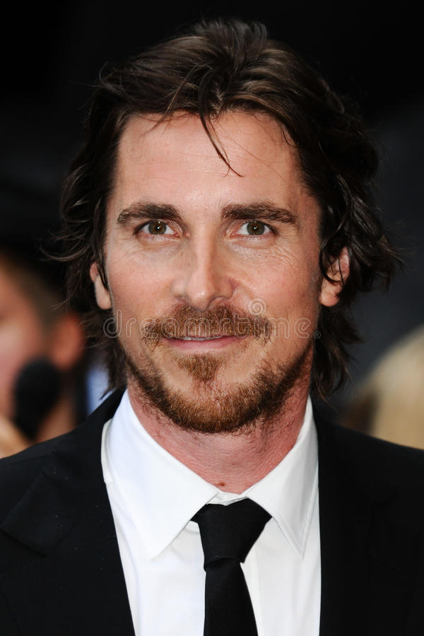 Die Schwärzung, Christian Bale lizenzfreie stockbilder