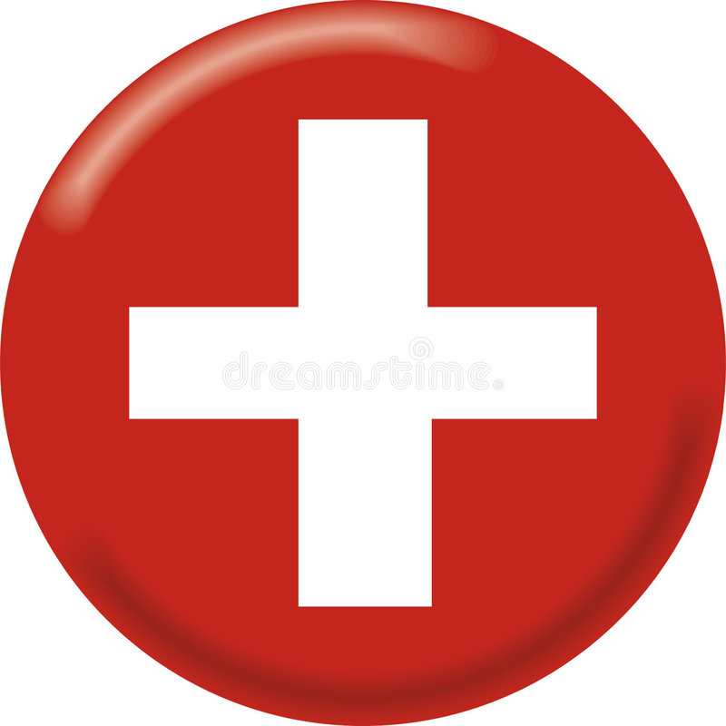 Die Schweiz stock abbildung