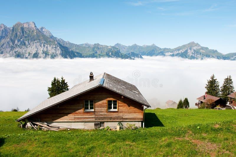 Die Schweiz in den Bergen lizenzfreie stockfotos
