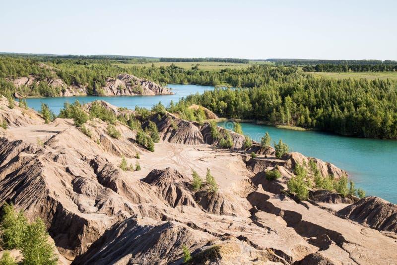 Die Seen lizenzfreie stockfotos