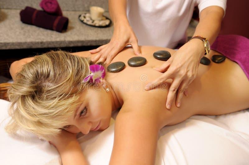 Die siamesische Massage lizenzfreie stockfotos