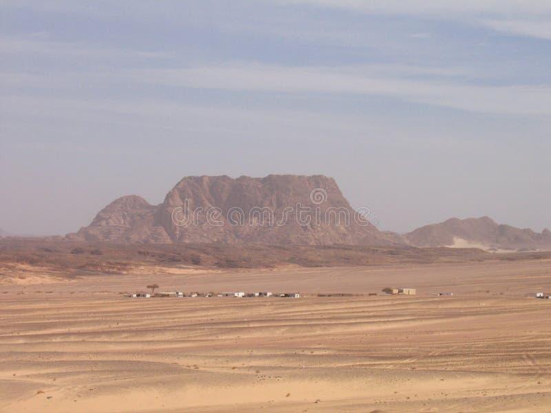 Die sinai-Wüste lizenzfreie stockfotografie