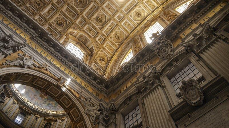 Die Sistine-Kapelle, Vatikan stockfotos