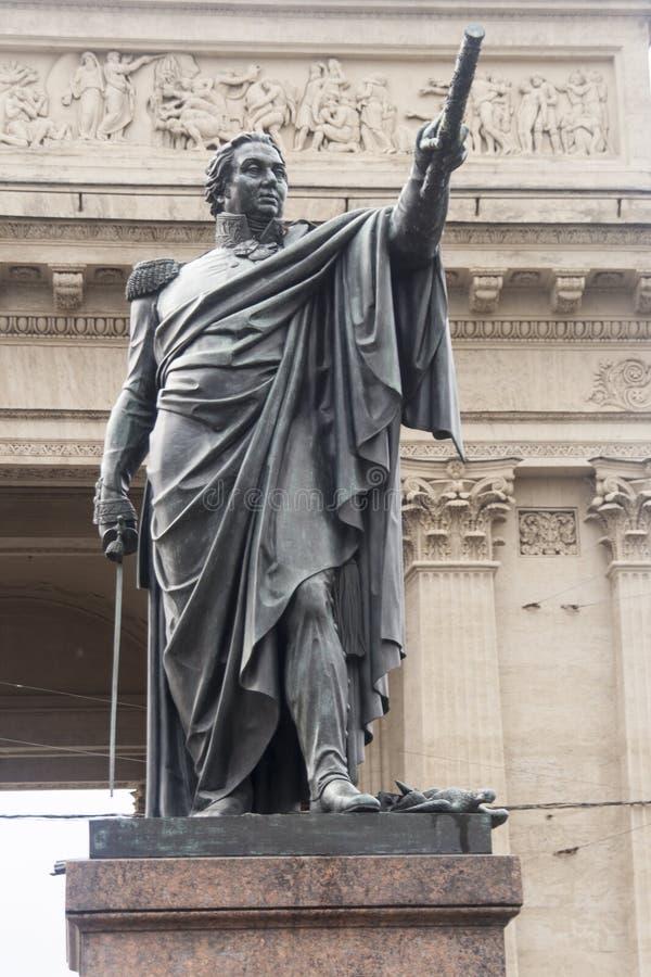 Die Skulptur in Kasan-Kathedrale, St.-peterburg lizenzfreie stockfotografie