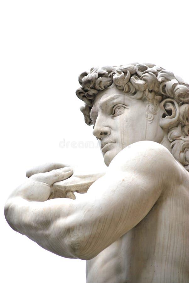 Die Skulptur von David lizenzfreie stockfotografie