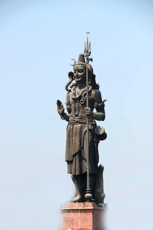 Die Skulptur von Lord Shiva lizenzfreie stockfotografie