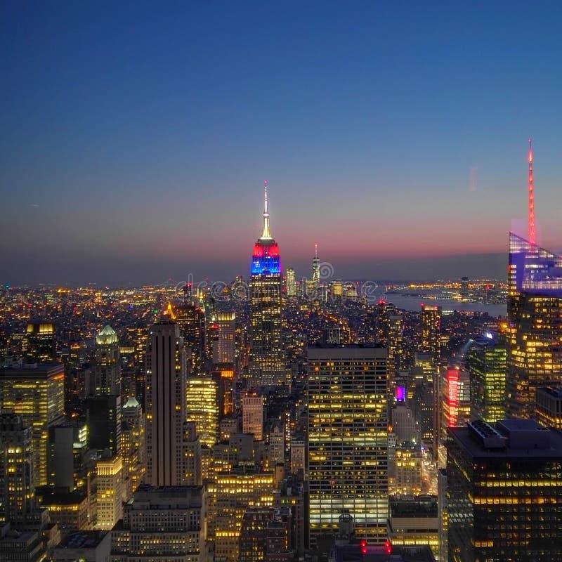 Die Skyline stockfoto